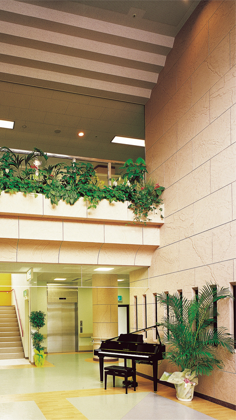 宇都宮病院(佐賀県) 設計監理:オオモリ綜建