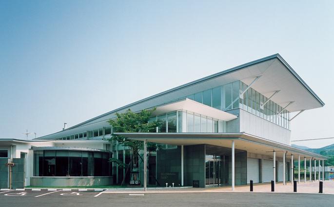 平戸市ふれあいセンター(長崎県) 設計/ 株式会社久米設計